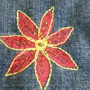 Chico's Jackets & Coats - Chico's Jean Jacket embellished